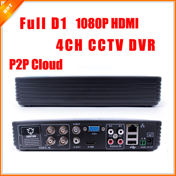 AHD-L 960H H.264 HDMI Security System CCTV DVR 4 Channel Mini DVR For CCTV Kit DVR 8 Channel 1080P 960H 15fps Mini DVR RS485 PTZ(China (Mainland))