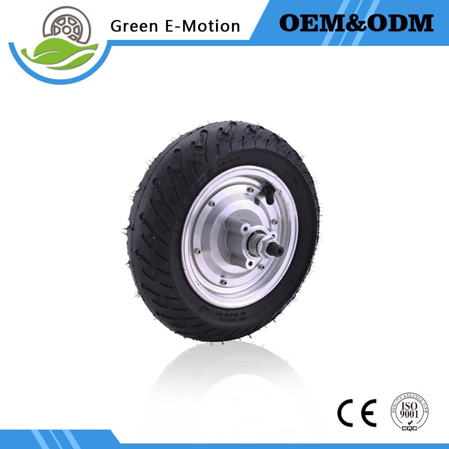powerful electric wheel motor 9 inch 36V 350W brushless hub motor ebike wheel electric scooter motor folding electric bike motor(China (Mainland))