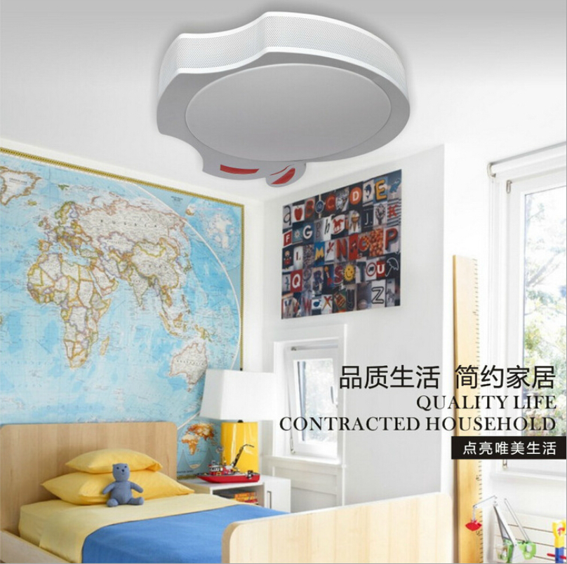 webetop modern kids ceiling lamps light mickey led