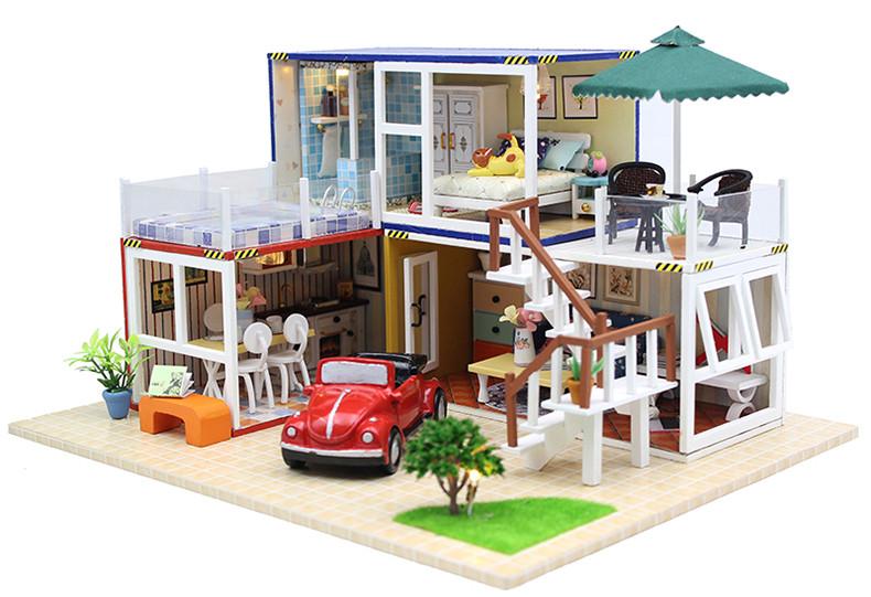 Mobili Per Casa Delle Bambole : Miniature mobili per casa delle bambole miniatura letto singolo