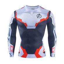 3D Марвел Капитан футболка Косплей Марвел Капитан Carol Danvers костюмы для женщин и мужчин супергерой Спорт облегающие футболки топы тренажерные...(China)