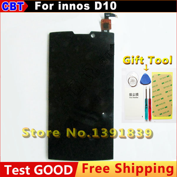 100% New Original For Createl D10 Highscreen boost 2 se innos D10 LCD Display + Touch Screen digitizer + Tool + Free Shipping