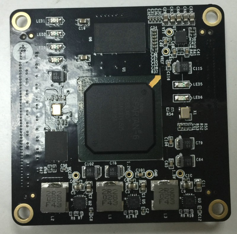 free shipping LX45 FPGA XILINX core board(China (Mainland))