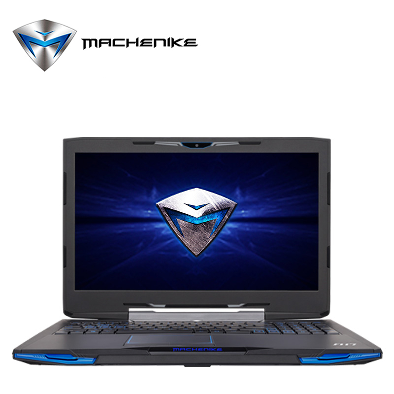 Machenike F117-F1 Gaming Aluminium Notebook Intel Quad Core i7 Laptop Computer SSD 240GB DDR4 2133 8GB RAM 15.6' FHD 1080P TypeC(China (Mainland))