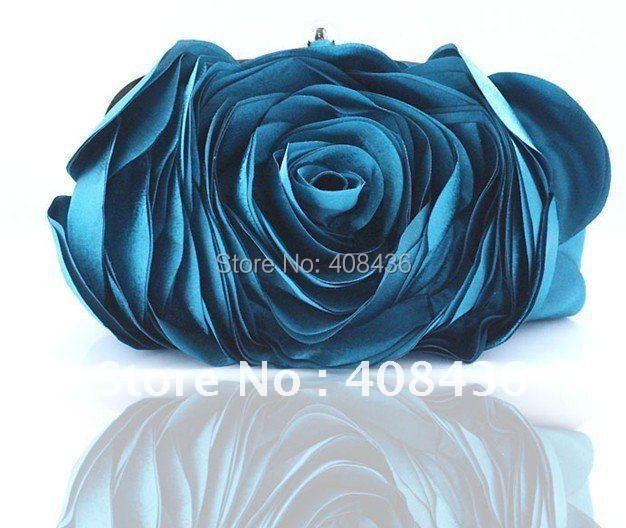 Hot 2014 Evening Bag , Flower Bride Bag Purse , full dress Party handbag Wedding Clutch Women Evening Purse Lady Gift EB034(China (Mainland))