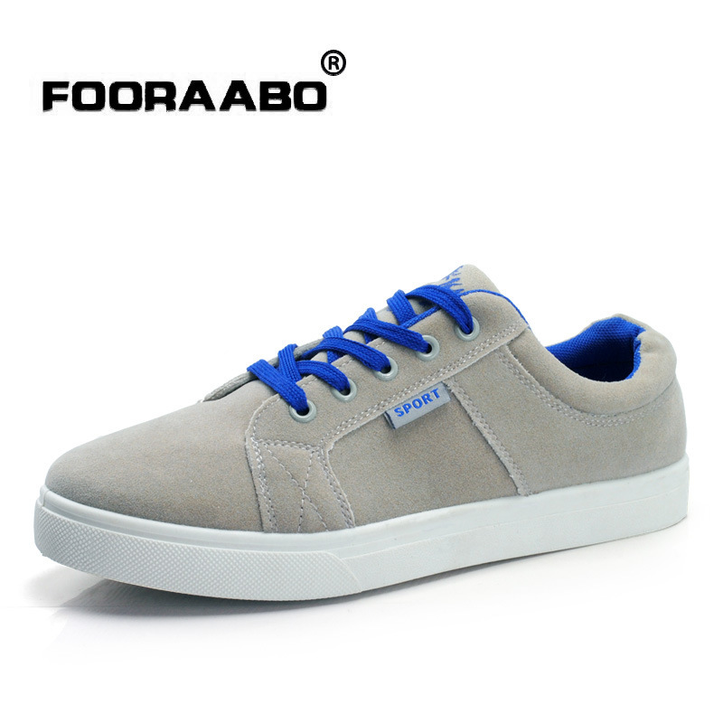 2015 Fashion Casual Flats Shoes Men's Sneakers Lace-Up Running Nubuck - Brand Discount1 store