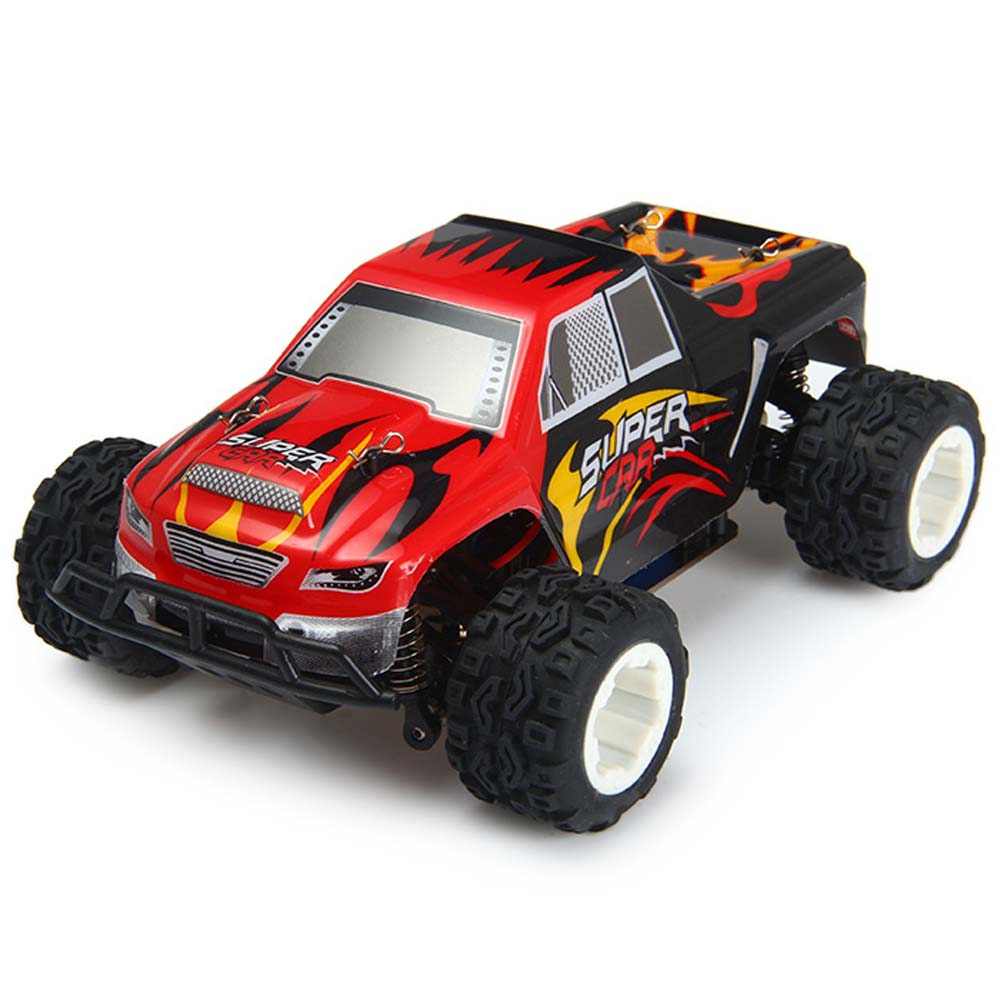Wltoys a212 2 4g 4wd 1 24 scale remote control big foot truck brand new high quality made from safety material