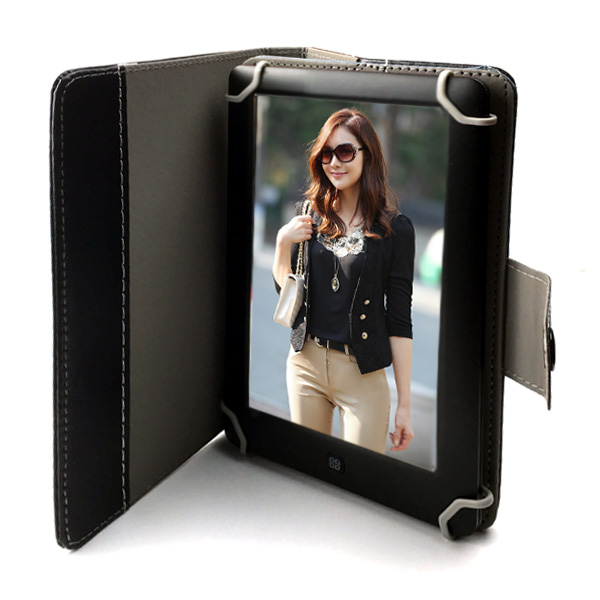 Ebook reader 7inch Touch Screen + Leather Case E-book+FM +Video+MP3 music player