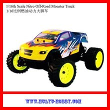 Kingliness 1/16 4wd Nitro Monster rc truck RTR car Toys 94286(China (Mainland))