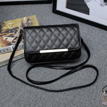 2016 new women's fashion leisure shoes, embroider line iron edge inclined shoulder bag one shoulder bag