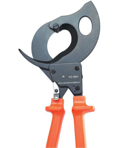 Capacity 60mm 500mm2 VC-60A Ratchet cable cutter cutting copper aluminum cables(China (Mainland))