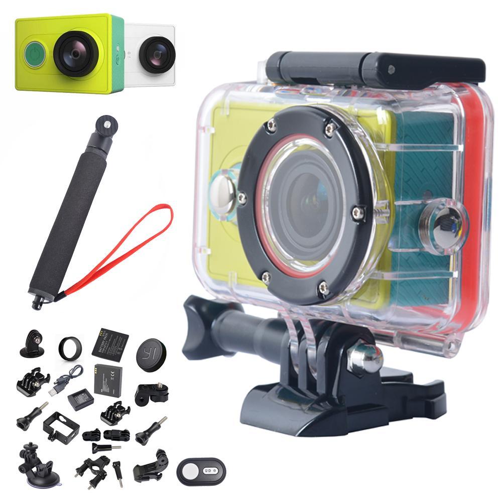 Гаджет  For Original Xiaomi yi Action Camera WiFi 1080P Xiaomi yi Sport Camera Bluetooth 4.1 Waterproof Case for Xiaomi yi Action Camera None Бытовая электроника