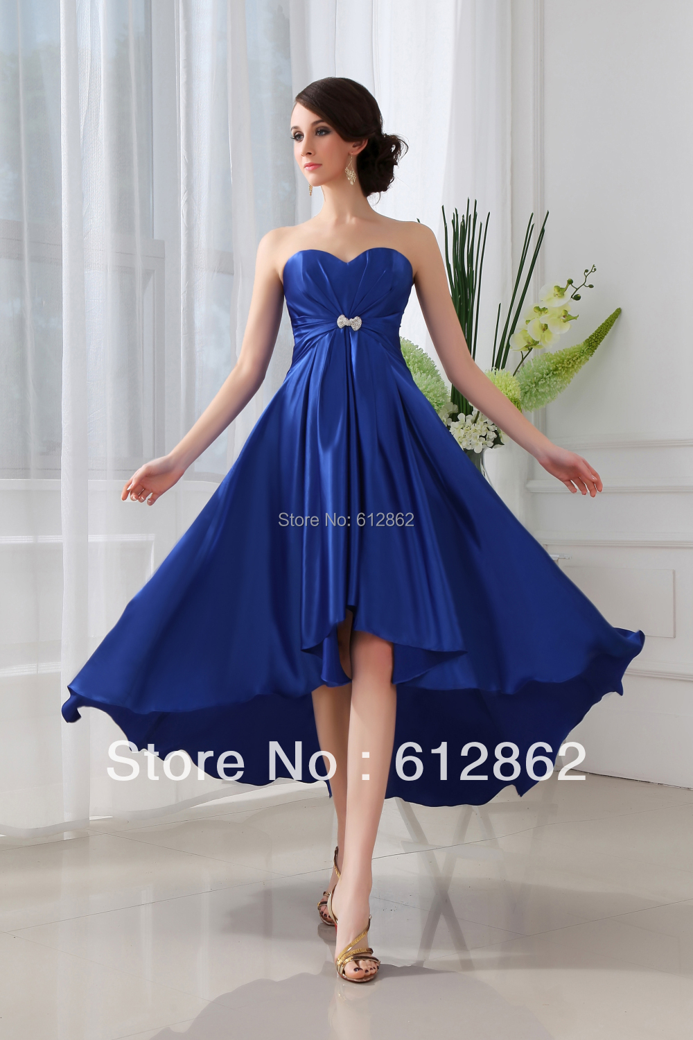 Royal blue bridesmaid dresses cocktail dresses 2016 for Royal blue short wedding dresses