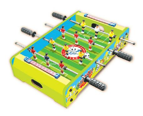 2013 Popular 20inch mini kids soccer table wooden football game table child's foostable tabletop set -new design(China (Mainland))