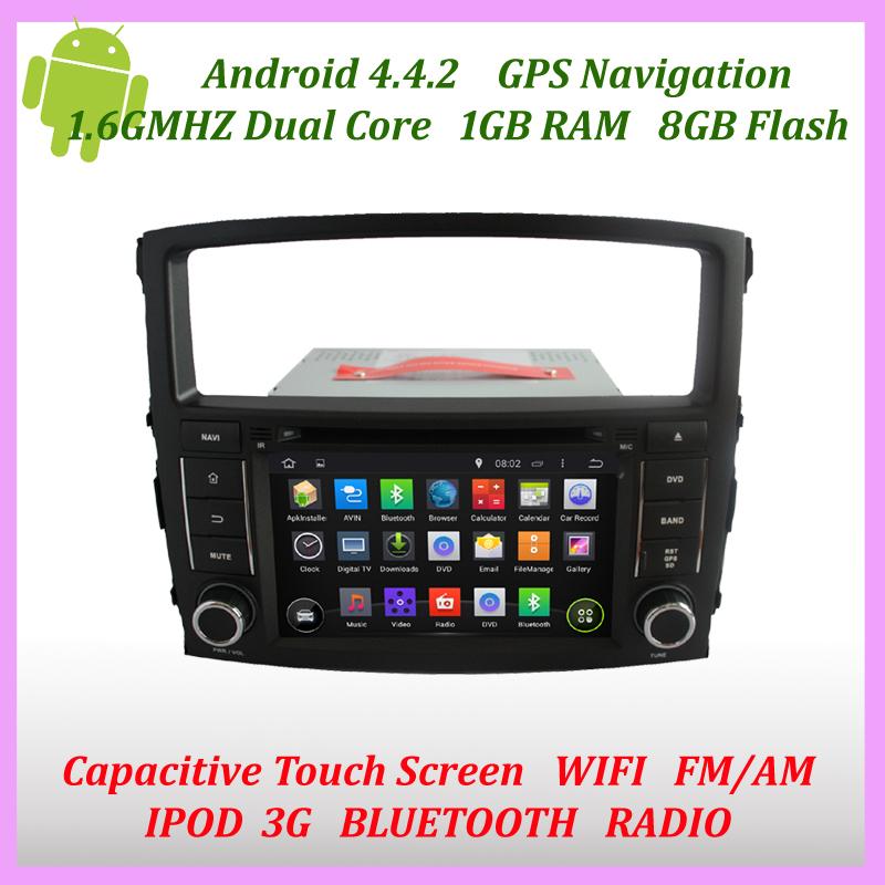 Car Android 4.4 DVD Gps Sat Navi Dual-core/Bluetooth/pod/Canbus For Mitsubishi Pajero V97/V93 2006 2007 2008 2009 2010 2011(China (Mainland))