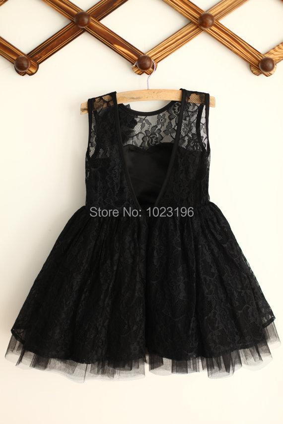Popular Toddler Tull Black Dress-Buy Cheap Toddler Tull Black ...