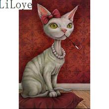 Buy Li Loye Cartoon 5D Diamond embroidery cat mosaic painting diy diamond painting cross stitch crystal full Round Home Decor J432 for $7.66 in AliExpress store