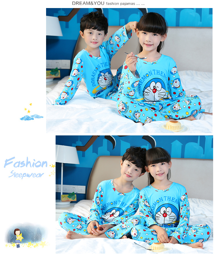 Children Clothes Autumn & Winter Pyjama Long Sleeve Pajamas For Girls Pijamas Kids Suit Set Boys Sleepwear Girls Pajamas Home