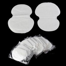 100pcs New Underarm Armpit Sweat Pads Shield Absorbing Absorbent Disposable Anti Perspiration Odour Sheet Clothing(China (Mainland))