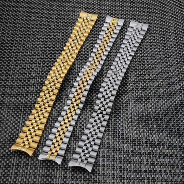 20mm high quality solid stainless steel watch band strap curved end deployment clasp buckle <br><br>Aliexpress
