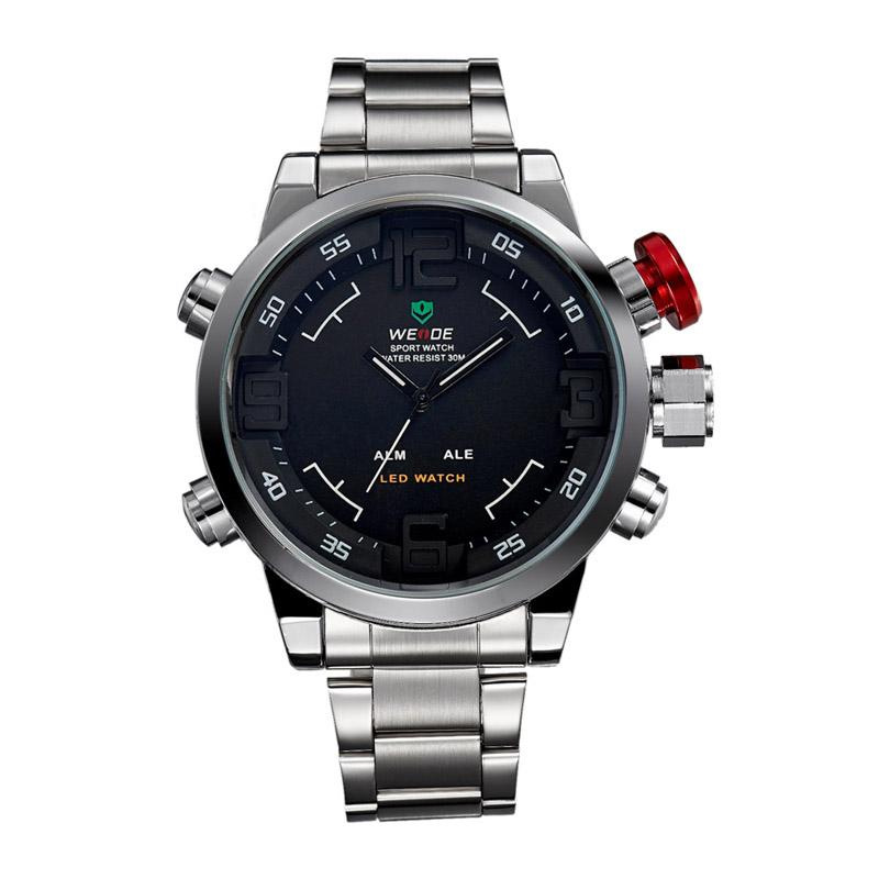 Kimisohand Mens Military Sport Wrist LED Watch Waterproof New Multi Function Quartz Digital Date LED Watch(China (Mainland))