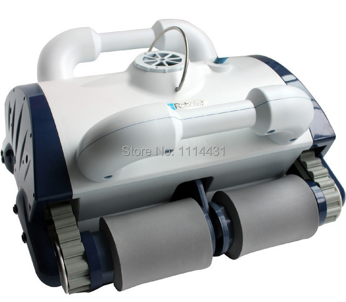 Wall Climbing Function Automatic Swimming Pool Cleaner Robot With Remote Control(China (Mainland))