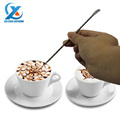 13 5cm Coffee Latte Cappuccino Flower Pin DIY Fancy Coffee tools Garland Needle Stainless Steel Carved