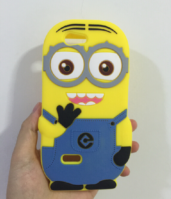 3D Despicable 2 Minions Soft Silicone Back Cover Case ZTE Blade L2 - ALEX ZHOU Store store