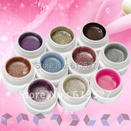 10 Colors UV Color Gel