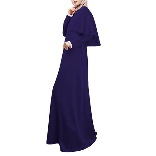 New Arrival Women Abaya Islamic Jilbab Arab Clothes Muslim Long Sleeve Maxi Dress Cloak Kaftan