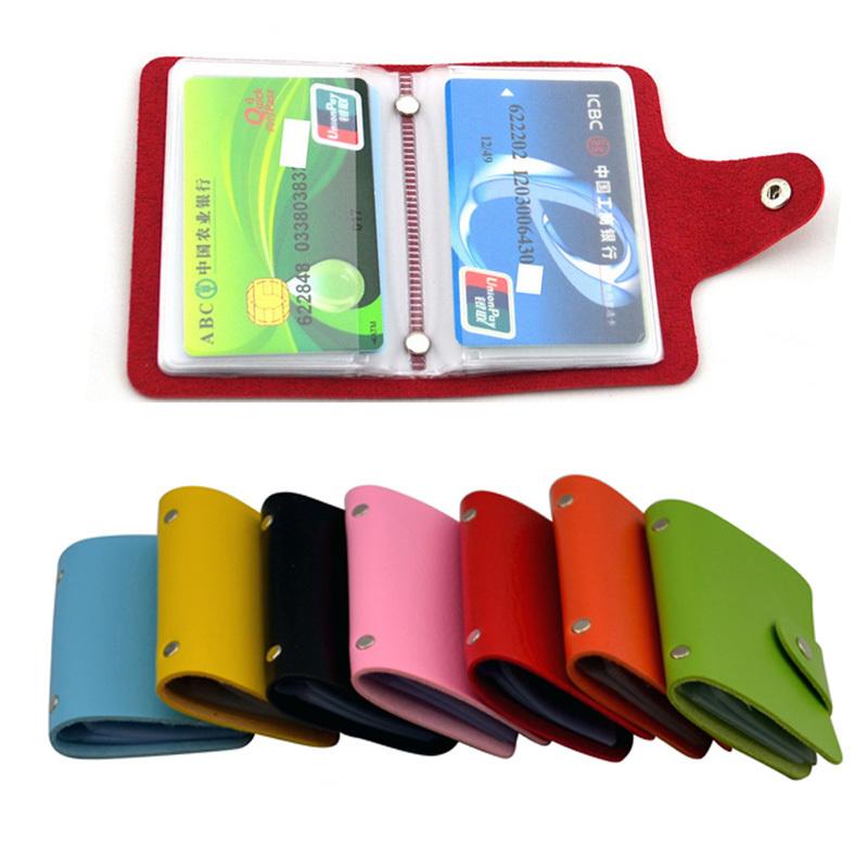 2015 New Credit Card Holder Men Women Travel Passport Holder Porte Carte Pu Leather Card Holder Buckle Business Id Card Holder(China (Mainland))