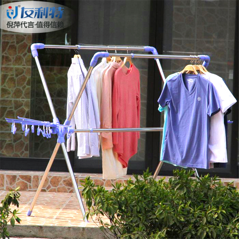 extensible removeable vertical clothes hanger rack(China (Mainland))