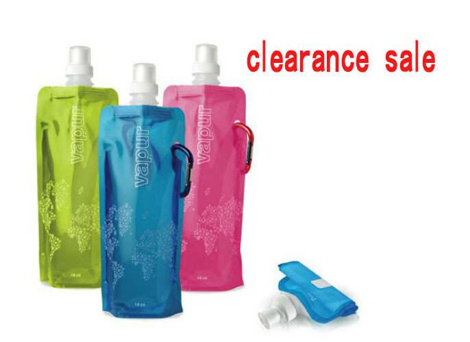 Lowest Price 500mL Foldable Reusable Sport Water Bottle Bag BPA-Free Bicycle Camping Outdoor Travel Easy Carry Eco-Friendly - ShenZhen Accessories co., LTD store