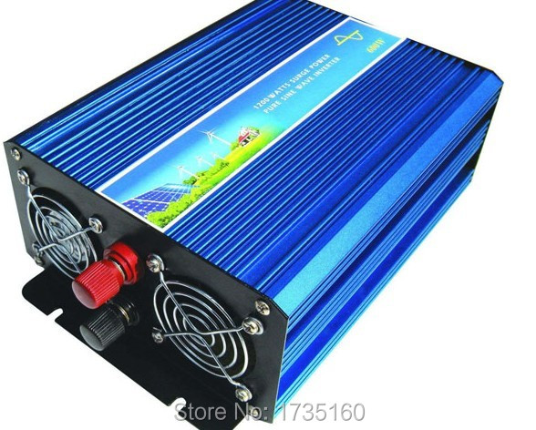 500W Inverter Pure Sine Wave Inverter 1000W Peak Power CE,ROHS 500W de onda senoidal pura Inversor<br><br>Aliexpress