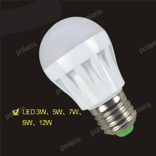 Quality Assurance E27 B22 Light Bulb 5W 9W 7W 10W 12W 15W LED Bulb Lamp, 220V Cold Warm White Led Spotlight Lamps Free Shipping(China (Mainland))