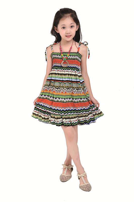 Images of Little Girl Summer Dresses - Reikian
