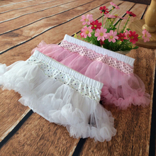 Baby Skirt Cotton Girls Costume Tulle Skirt Petticoat Kids tutu Skirts Small Dot Style Free Shipping(China (Mainland))
