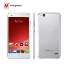 Original ZTE Blade S6 5 Inch 1280*720 Android 5.0 MSM8939 Octa Core LTE 4G Smartphone 2GB RAM 16GB ROM 13.0MP Camera Cell Phone