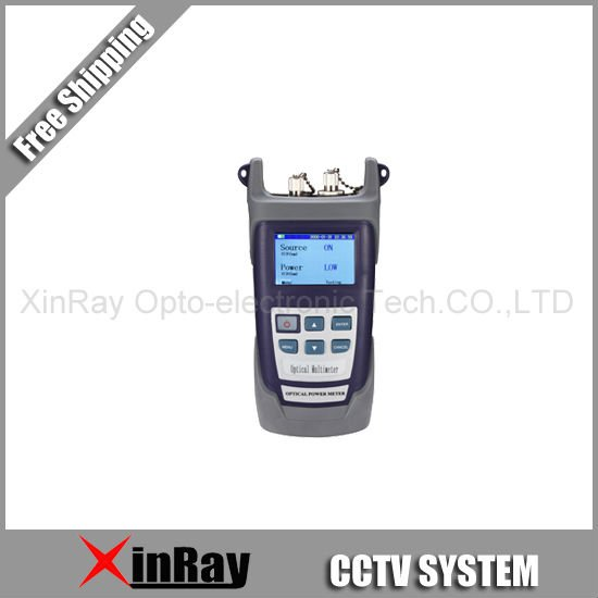 Free Shipping* 1 pc of Handheld Fiber Optical Multimeter XR3205C Used in CCTV& digital system of communication devices(China (Mainland))