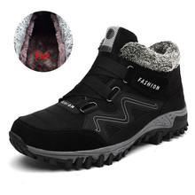 VANCAT 男性ブーツ冬 2018 ウォーム雪のブーツ男性冬のブーツ作業靴男性の靴のファッションゴム足首靴 39-46(China)