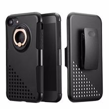 Для iPhone 7 Case Heavy Duty Drop Protection Tough Прочный Hybrid жесткий Shell Обложка Case с Поясом-клип для iPhone 6 7 Plus(China (Mainland))