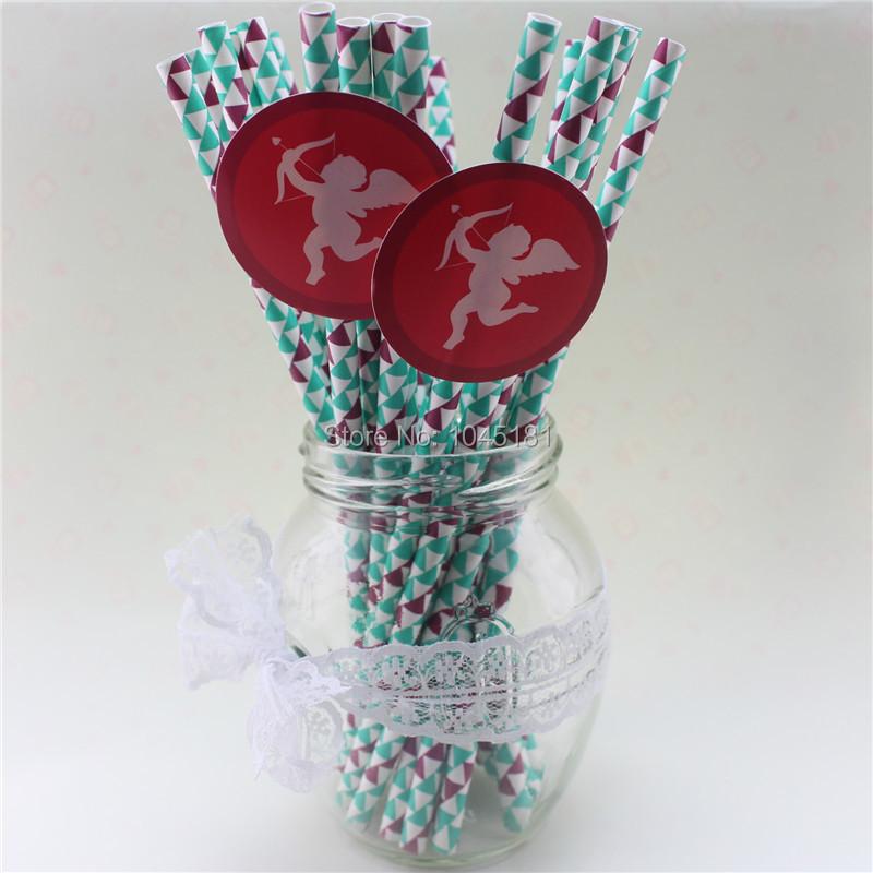 Здесь можно купить  10000 pcs Wedding Paper Straws Wedding Anniversary Valantine