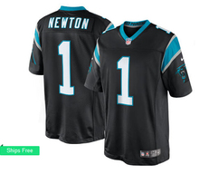 Men's 2016 free shipping,100% Stitiched,Carolina Panthers Cam Newton #1(China (Mainland))