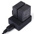 XCSOURCE Dual USB Batterie Charger For Gopro Hero3 3 AHDBT 201 301 302 BC397