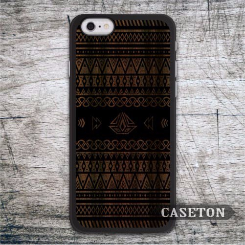 Tribal Aztec On Wood Case For iPod 5 and For iPhone 7 6 6s Plus 5 5s SE 5c 4 4s Classic High Quality Cover Drop Shipping