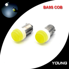 10X New Arrival BA9S T4W COB LED Clearence Lights High Power Car Marker Lamps Side Turn Signals Parking Warning Lights Wholesale(China (Mainland))
