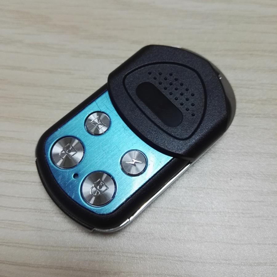 5pcs Wireless Waterproof Metal RF Remote Control Auto Duplicator adjust 290-450MHz Self Copy(Black/Red/Blue)(China (Mainland))