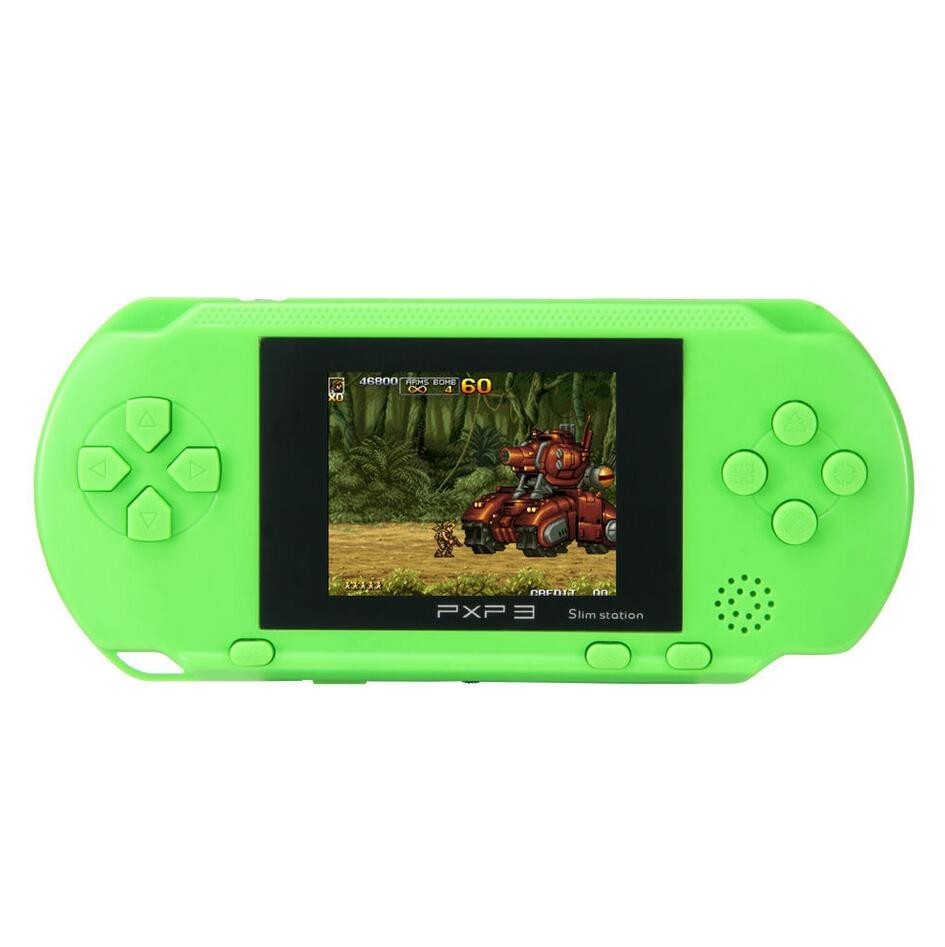 2.7inch 16 Bit Portable PXP3 Handheld Video Game Players SLIM Games Console with 160 kinds of Games + Game Card