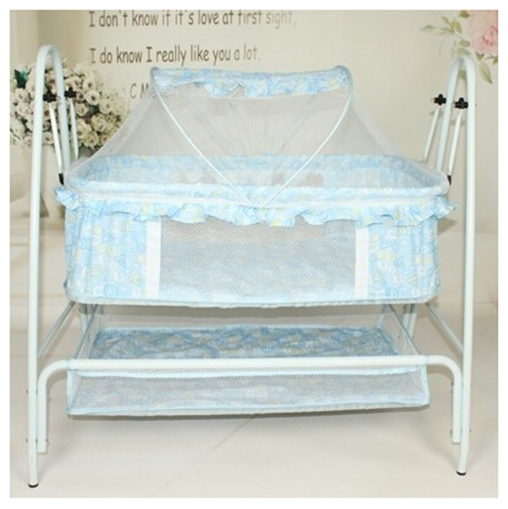 Baby cradle bed baby multifunctional small child cradle for Baby bed with wheels