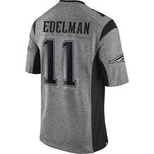 100% Stitched Men's 11 Julian 12 Tom 87 Rob Brady Adult Edelman Rob Gronkowski Gray Gridiron Gray Limited Free Shipping(China (Mainland))